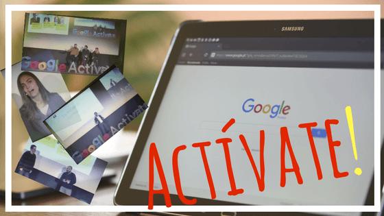 Evento Google: momentos top del #GoogleActívateTalk.