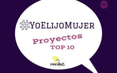 #YoelijoMujer: 40 blog de proyectos TOP creados por GRANDES profesionales.